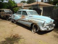 I HAVE FOR SALE A 1952 BUICK SUPER 4 DR -ALL THERE