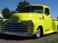 1952 Chevrolet 3100 Pickup Truck, Restomod, 327 V8,