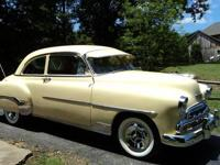 For sale is a 1952 Chevy Deluxe Belaire Coupe.