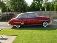 52 chevy sedan 216 engine, 3 speed transmission,new