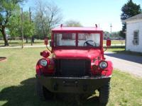 1952 Dodge 3/4T M37 (Military) 4X4 Power Wagon. Engine: