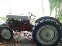 we have a 1952 ford 8n tractor that runs good
