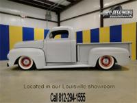 1952 Ford F1 Custom. This is a great looking truck it