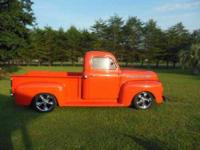 1952 Ford F100 Classic Truck This 1952 Ford Classic