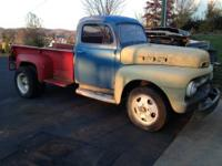 Great F4 Ford dually truck, Original sheet metal with