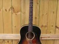 Good condition. 1952 Gibson J-45 acoustic guitar.