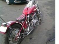 1952 Fl Custom bobber with under 1600 miles since a
