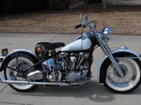1952 Harley-Davidson FL Touring Classic. This bike is a