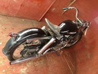 HARLEY DAVIDSON 1952 K MODEL FIRST YEAR. THIS IS THE