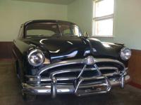 1952 Hudson Horner 4 door....Black exterior,Blue