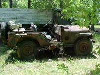 Solid and restorable 1952 US Army M38-A1 Military