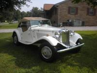 1952 MG TD Kit Car for sale (TN) - $10,500. 1952 MG TD