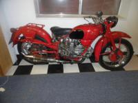 THIS BIKE IS AWESOME! IT'S A 1952 MOTO GUZZI FALCONE