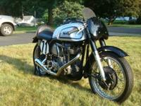 This is a rare opportunity to own a legend. The Norton