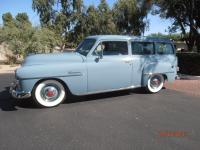 his 1952 Plymouth Suburban has about 5000 miles of use