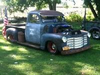 1952 Chevy pick up on a s10 frame 400cu in, turbo 350