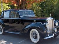 This black 1953 Bentley R was garage keep, where it
