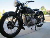 -- Restored 1953 BMW R51/3This bike in complete,