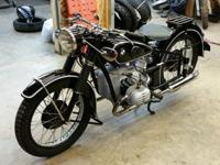 Hello up for sale is a truly special bike, a BMW R51