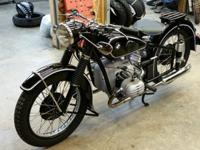 This bike was restored to exacting standards by a frame