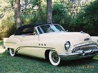 1953 Buick Super Convertible. Frame-off restoration to