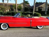 1953 Cadillac 62 Convertible ..Frame Off Restoration