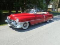 1953 Cadillac 62 Convertible ..Nice Quality Driver