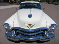 Here is an absolutely gorgeous 1953 Cadillac Coupe