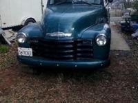 I have owned a 1953 Chevrolet 1/2 ton Truck for 36 yrs,