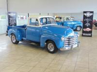 1953 Chevrolet 3100 5-Window Cab pickup truck.