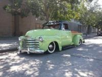 1953 Chevrolet 3100 short bed truck. SBC 350/ 350TH,