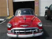 The 1953 Chevrolet bel Air automobile came in three