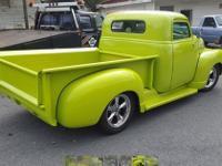 1953 Chevy 1/2 Ton (VA) - $30,500 This 2 door pickup in