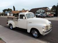 1953 Chevy 3100 short bed half ton original 5 window