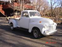 This is an original half ton Chevy truck that has been