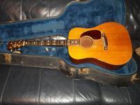 FOR SALE A 1953 D-18 MARTIN GUITAR. SERIAL # 135923. I