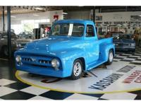 1953 Ford Custom Step Side Pickup. Powered by a 350 V -