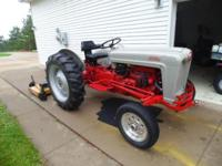 You are looking at my weekly mower tractor. I use this