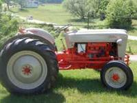 For sale is a 1953 Ford Jubilee tractor. Great shape,