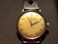 FOR SALE 1953 GIRARD PERREGAUX IN PERFECT WORKING ORDER
