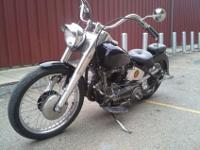53 Panhead,bike runs great has 643 miles since rebuilt