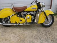 Indian Chief Eighty Road Master '53 Still Wears The