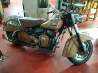 "1953 Indian Chief Roadmaster ""Un-Restored Original"","