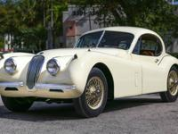 1953 JAGUAR XK120SE FIXED HEAD COUPE, SPECIAL EQUIPMENT