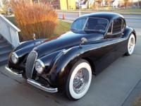 1953 Jaguar XK 120 coupe for sale (SC) $75,000 This