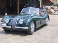 This Jaguar is the rare Mcode car, 102quot; WB with