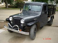 This Jeep has been completely restored. Here is a list