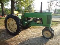 I have for sale a John Deere 60 2cyl tractor. It does