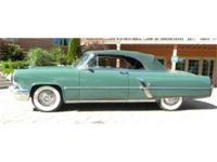 1953 LINCOLN CAPRI CONVERTIBLE, THE MOST EXPENSIVE