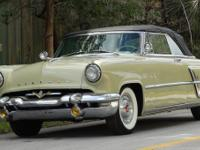 1953 LINCOLN CAPRI CONVERTIBLE CLASSIC COLLECTIBLE